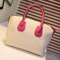 Bags 2013 female candy color block smiley fashion all-match women's handbag cross-body handbag