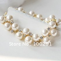 FreeShipping!!!   wholesale  fashion jewelry peral bracelet