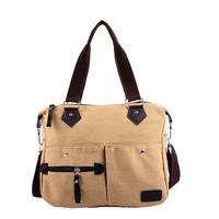 Canvas bag women's handbag autumn bag vintage messenger bag fashion women bag women's handbag