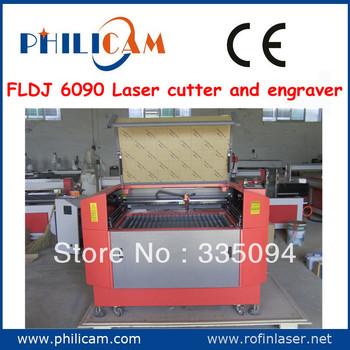 Good quality PHILICAM FLDJ 6090 best laser engraver cutter/3d laser engraving machine