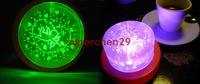 New !!!! Cake Projection Electronic Candle LED Lamp Light Color Auto Change  Free Shipping