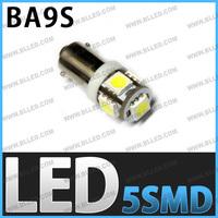 FreeShipping wholesales BA9S 5SMD 5050  3 chip BA9S h6w led car bulb