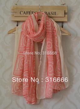 2013 Autumn new shawl!Free shipping,long Women shawl,geometry print,totem print,Bohemia style,viscose hijab,head wrap,long hijab