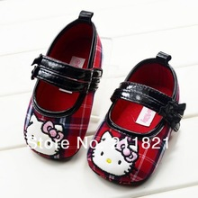 SanFu--DI023 baby girl shoes first walkers shoes home and toddler red shoes size 2 3  4 in US free shipping(China (Mainland))