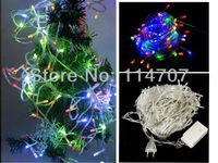 10pcs/lot Wholesale 100 LED Holiday String Light 10M 220V Decoration Light for Christmas Party Wedding Free Shipping