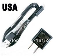 USA Plug AC Power Wall Charger, Micro USB Adapter Universal for Samsung Galaxy S4 i9500 / S3 i9300