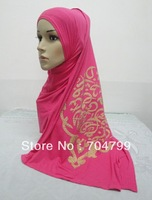 H592 cotton long scarf with arabic words,free shipping,fast delivery,assorted colors