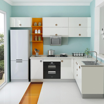 Orange kitchen cabinet fashion orange modular kitchen cabinet kitchen cabinet