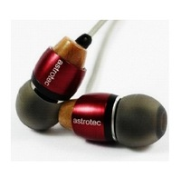 Am800 in ear earphones heatshrinked hifi music mp3 mobile phone