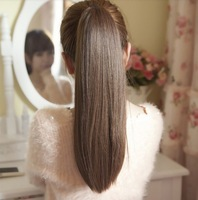 "A+++,2013 NEW PRODUCT,22""  india blended human hair  Horse tail hair/ Ponytail Hair(#1B,#2t33,#2t30),free shipping"