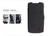 HK Free Ship!Newest Phone Cover For HTC Desire 500 Nillkin Fresh Series PU Leather Case For HTC 506E Case With Retail Box