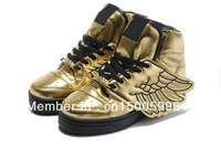 Best PriceFashion Man & Women Jeremy Scott Wings Shoes glod jeremy scott wings sneakers glod js wings shoes MW19