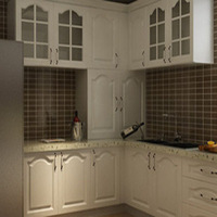 Whole kitchen cabinets xisu molded door kitchen cabinet quartz stone countertop kitchen cabinet lushuihe cabinet