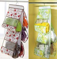 free shipping Non-woven bags Visual antibacterial storage bag storage bag i9167