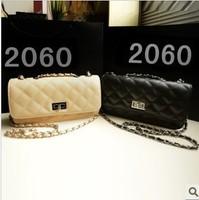 small bag Quilted chain bag Korean fashion black mini shoulder diagonal package female bag small sachet handbag