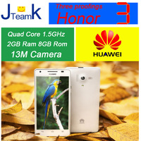 Huawei Honor 3 in stock 13M Camera waterproof quad core 1.5GHz 2GB Ram 4.7 inch HD screen  Original new
