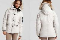 Factory Price 5 Colors Lady's Winter Coat Montebello Goose Down Parka Down&Parkas Jacket Women's Montebello Down Coat XS-XL