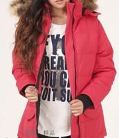 New Model Women's Solaris Down Jacket Lady's Winter Coat Goose Down Parka Down Coat XS-XXL
