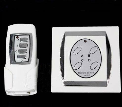 New 4 Port Digital Wireless Remote Control Wall Switch(China (Mainland))