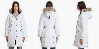 Wholesale Retail Women's kensington Goose Down Jacket Lady's Goose kensington Down Parka Warm Winter Coat XS-XL
