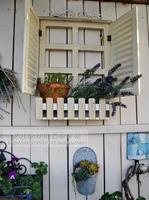 Garden decoration manyplie window flower planters muons zakka