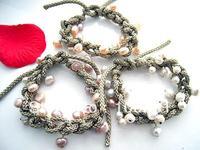 WWQE//No,48 fashion natural freshwater pearl bracelet