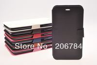 flip leather cover for samsung galaxy mega6.3 GT-i9200 free shipping
