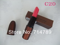 NEW free shipping makeup SATIN LIPSTICK ROUGE/LIP STICK 3g many colors choose(24pcs/lot)