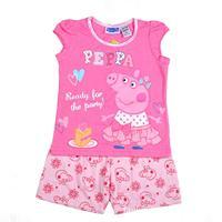 peppa pig baby girls sleeveless tops t shirt + children clothing peppa pig shorts pants outfit clothing