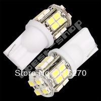 2 T1O 158 Car 20 SMD LED Side Wedge Light Bulb Lamp 12V free shipping