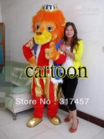 Lion King  Mascot Costume Adult Character Costume Cosplay mascot costume free shipping