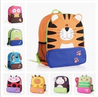 Free Shipping Cute Cartoon Animal School Bags Baby Shoulder Oxford Canvas Backpack Gift for Children Kids Dora Schoolbag SL-17