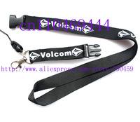 Wholesale  Hot 30pcs logo New modell polyester skate lanyards/ Diamond neck strap for sport staking Free shipping