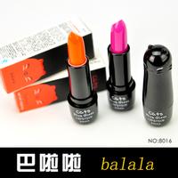 free shipping 10pcs Balala lipstick red purple orange f8016 lasting moisturizing gloss moisturizing nude color