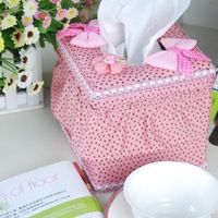 Mantianxing pumping tissue box pink fashion car pumping paper towel box