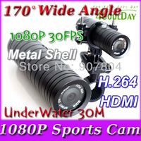 SJ2000 1080P 170  Degree Lens Sports Camera Waterproof Underwater 30M