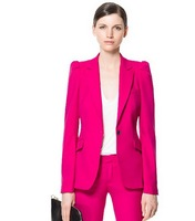 Free shipping wholesale women blazers for women 2013 women suit fashion blazer