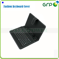 9.7 inch leather case keyboard for tablet pc accessories