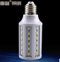 E27 15W 60 LED 5630 Warm White Cool White led Bulb Lamp 220V 110V corn smd blub light cree blubs home lighting high  brightness