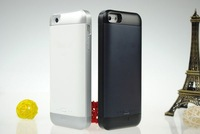 KIWIBIRD 2000mAh I5 Power Battery Case External Backup Battery Case Charger for iPhone 5