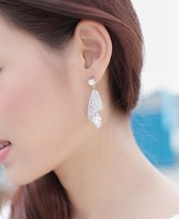 CTT Wholesale  EA-0366 2013 New Arrive Occident Ladies Fashion Women Beautiful Shiny Full Imitation Diamond Stud Earrings