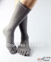 Free Shiping 6pairs/lots winter toe socks Men toe socks