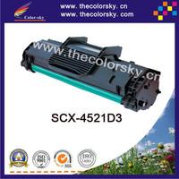(CS-S4521) BK laser toner cartridge ceramic toner for samsung scx 4521d3 4321 4521 4321f 4521f (3k pages) Free FedEx