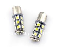 Free shipping 12V White 24months signal lighting 1156 1157 18SMD 5050 LED Brake Light Tail Light Turn Light BA15S BAY15DS