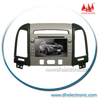 DH-6520F 7Inch HD New Car DVD for 2013 Hyundai Santa FE/IX45 with GPS/Bluetooth/TV/RDS/USB/SD/DVD/CD/IPOD/Steering wheel control