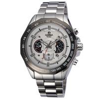 Hyperspeed casima series male watches waterproof luminous outside sport stainless steel belt calendar