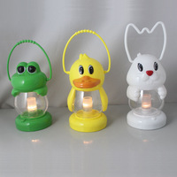 Animal light sleep child toy camping light duck lamp rabbit lamp frog light