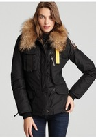 Girls High long section NEW DENALI fur lined warm down coat women winter jacket beige black green 803