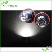 Express Free Shipping 5pairs/lot High Power Cree Angel Eyes LED Maker Lamp fit for BMW E39 E53 E60 E61 E63 E64 E66
