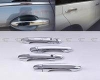 Free shipping & Tracking # New Chrome Door Handle Cover Trim w/smart key for Honda CRV CR-V MK4 2012 - CA00514